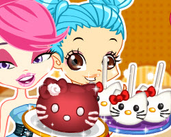 Color Girls Hello Kitty Desserts