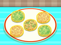 Delicious Rounded Cookies