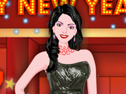 New Year Party Girl